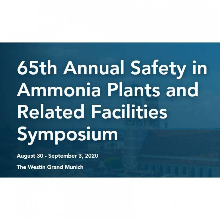 65th Annual Safety in Ammonia Plants Symposium